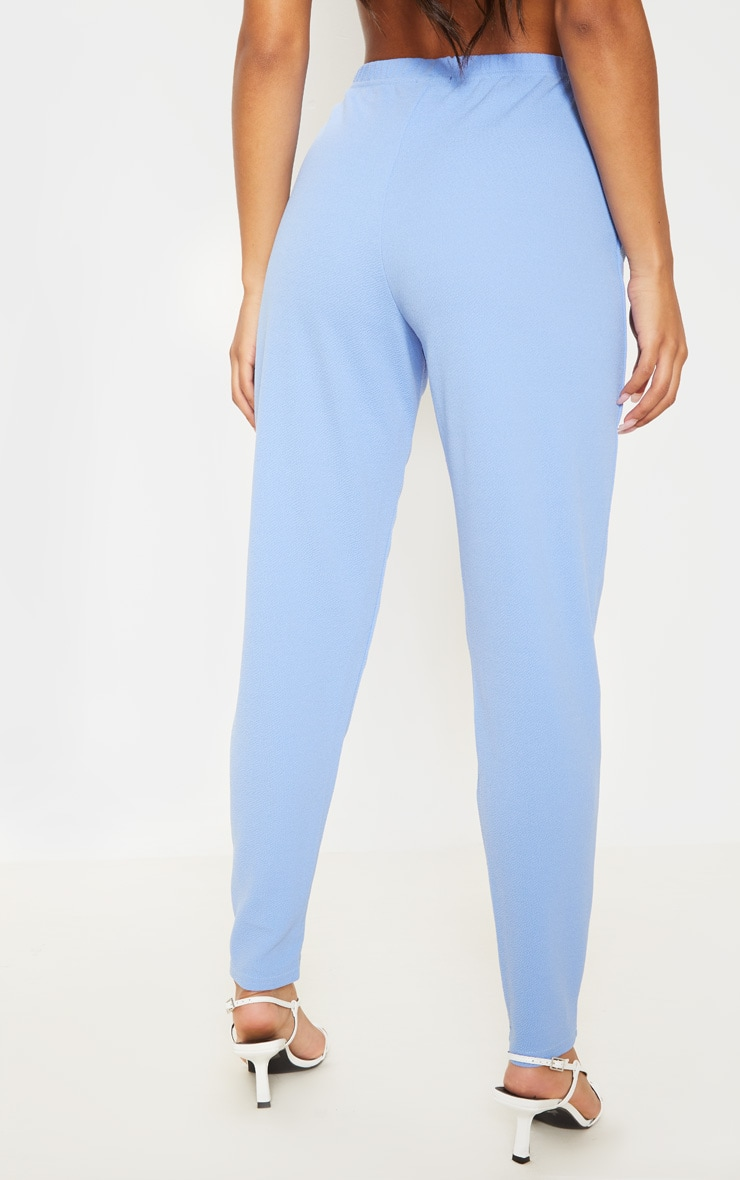 Cornflower Blue Straight Leg Trouser  4
