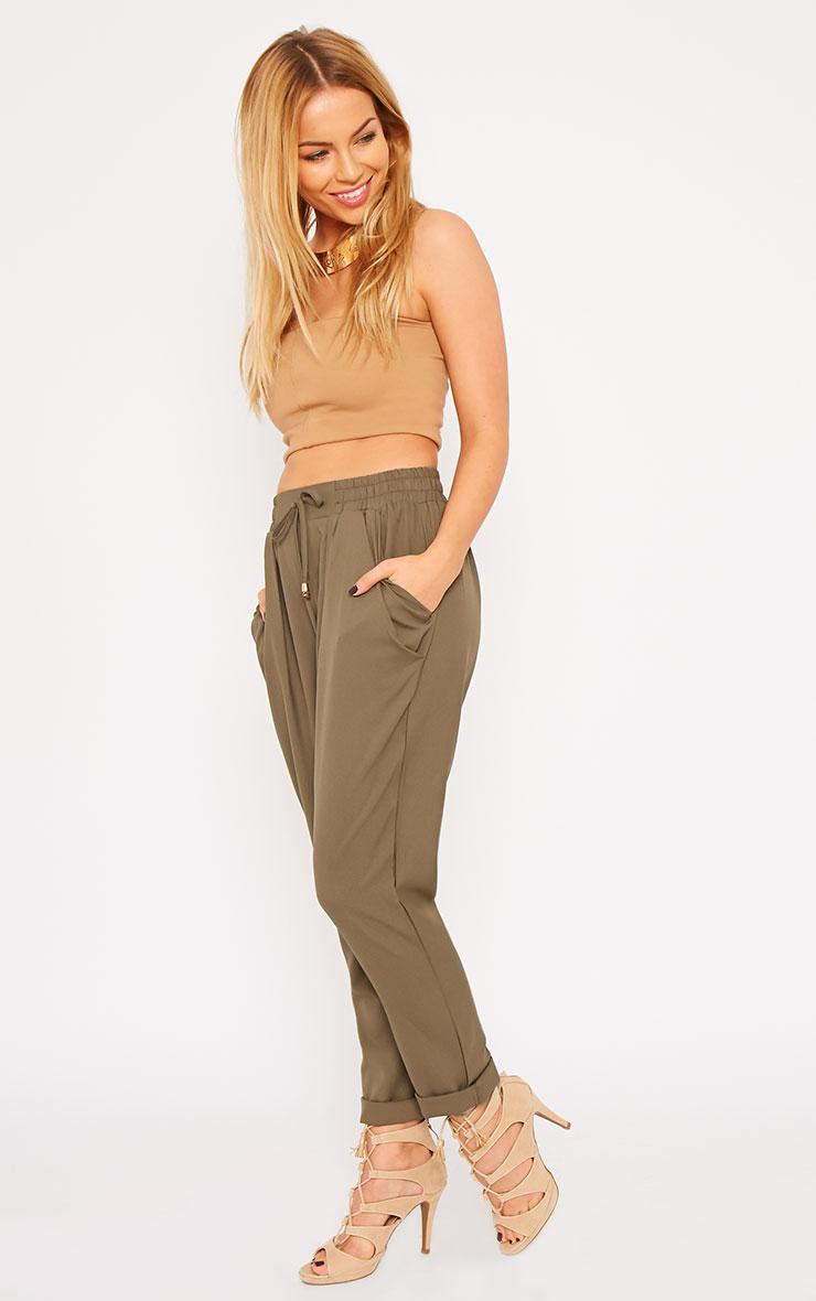 Hilda Khaki Trousers 6
