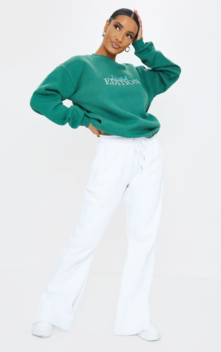 Forest Green Limited Edition Embroidered Sweatshirt 3