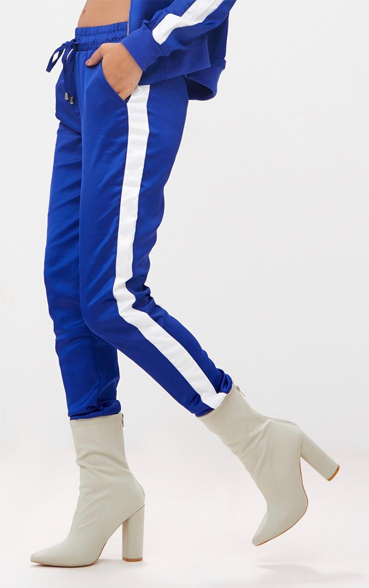 Cobalt Sport Stripe Jogger  5