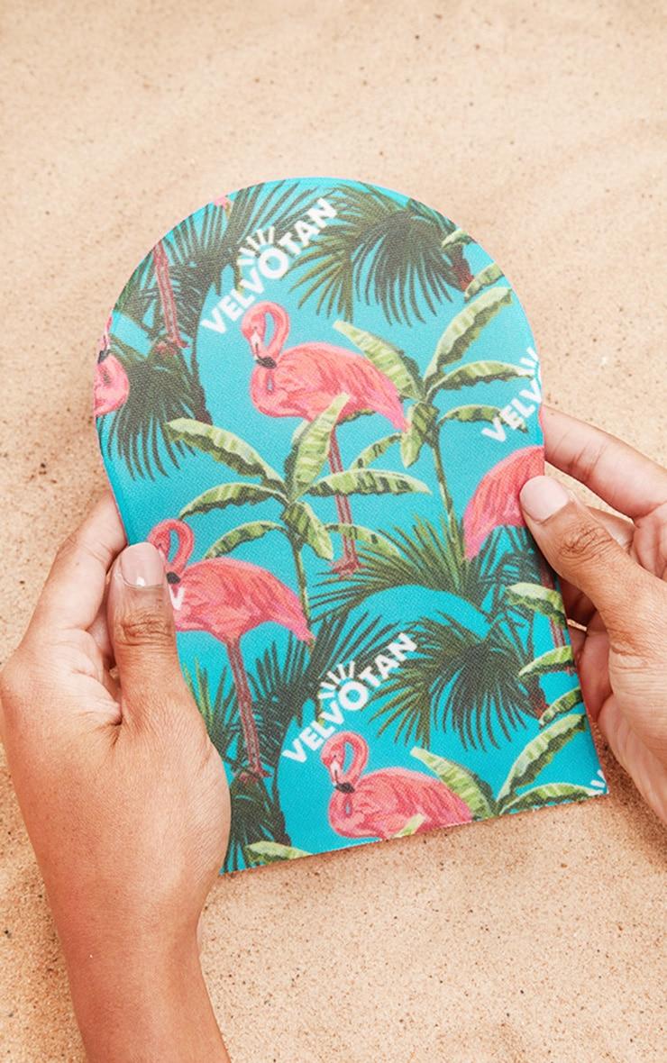 Velvotan Self Tan Applicator Original Body Mitt Flamingo 1