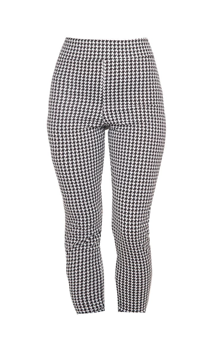 Dogtooth Checked Ponte Legging 3