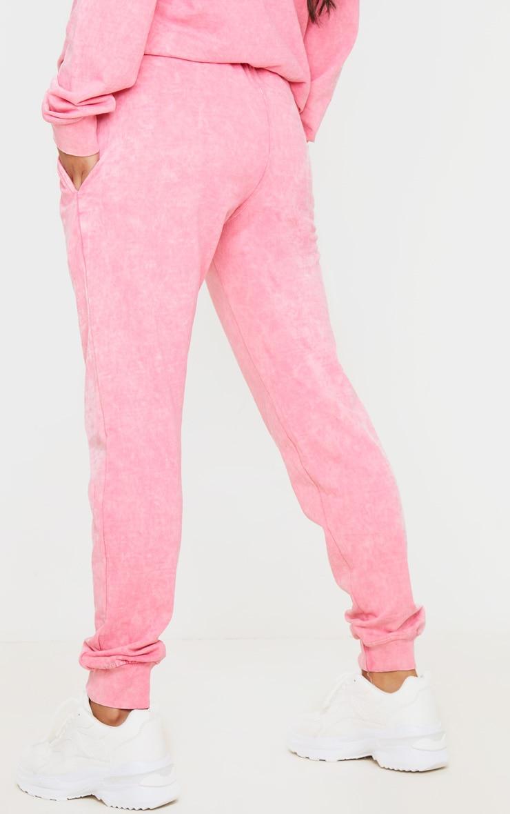 Light Pink High Waisted Skinny Jogger 4