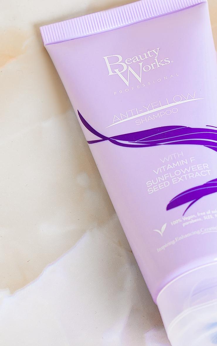Beauty Works Anti Yellow Shampoo 100ml 3