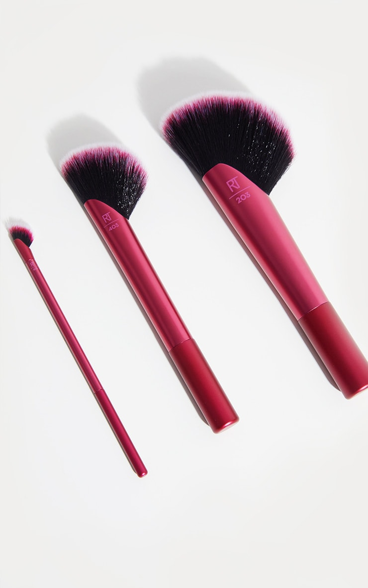 Real Techniques Rebel Edge Trio Brush Set 2