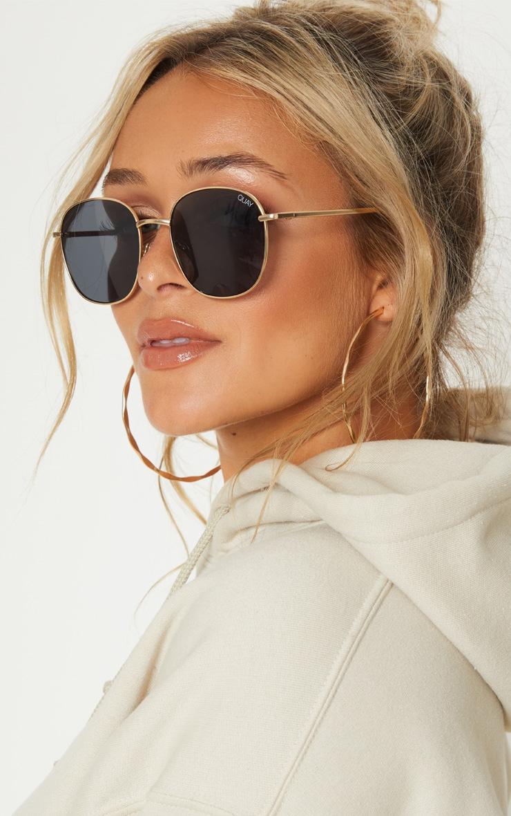 QUAY AUSTRALIA Black Jezabell Sunglasses