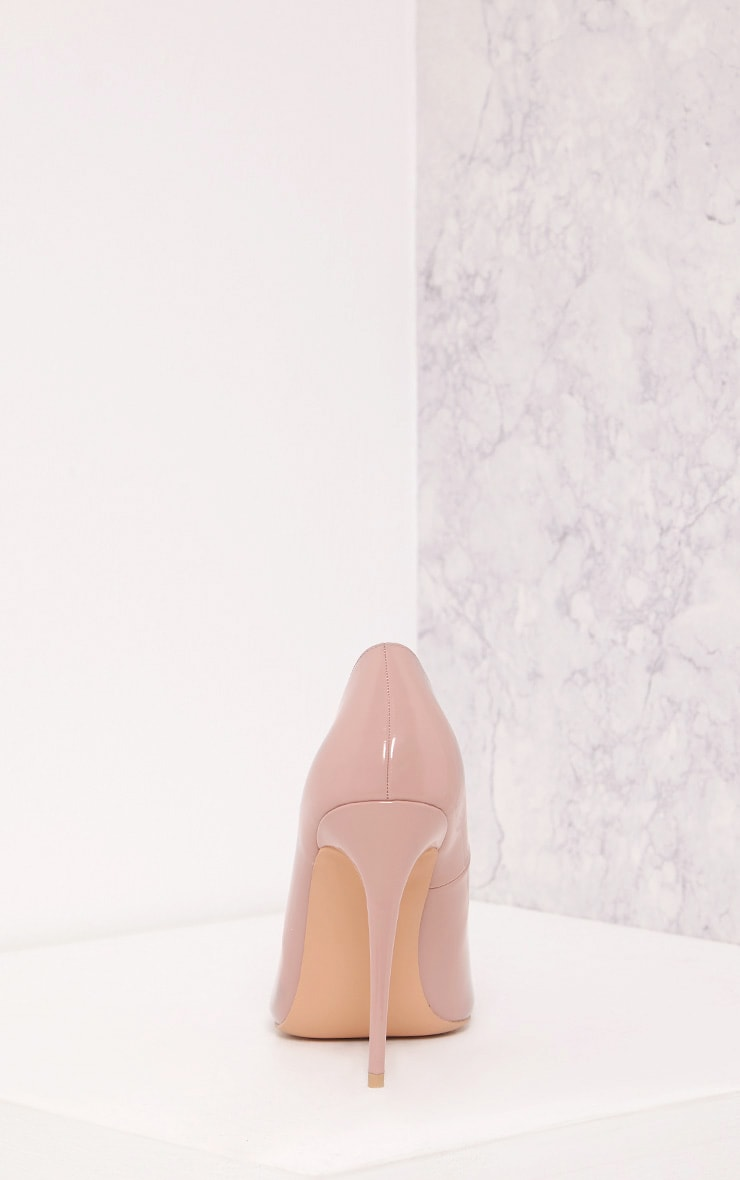 Karinna Rose Patent Pointed Heels 4