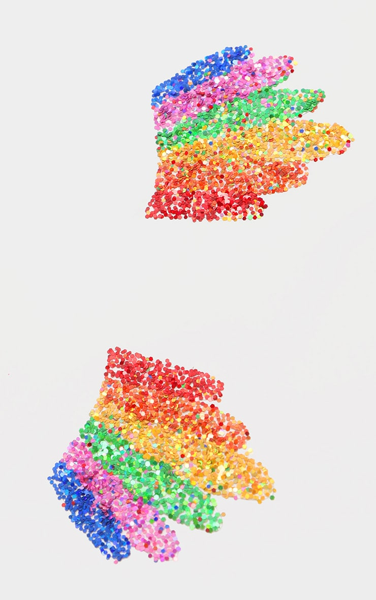 SHRINE Rainbow Glitter Sticker 2
