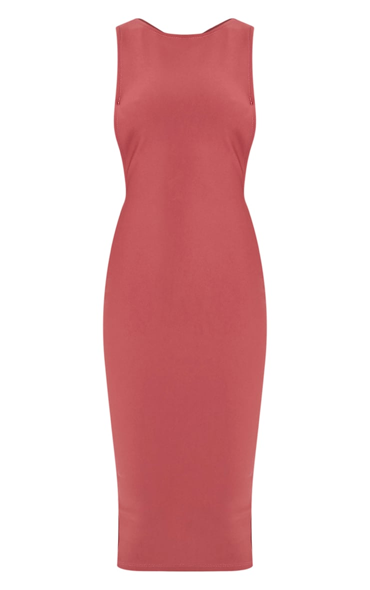 Rima Rose Strappy Cut Out Midi Dress 3