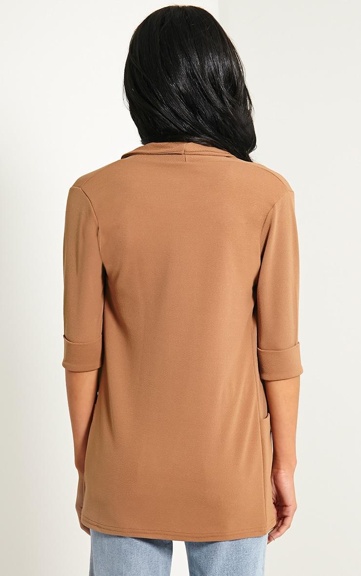 Scarlet Camel Pocket Blazer 2