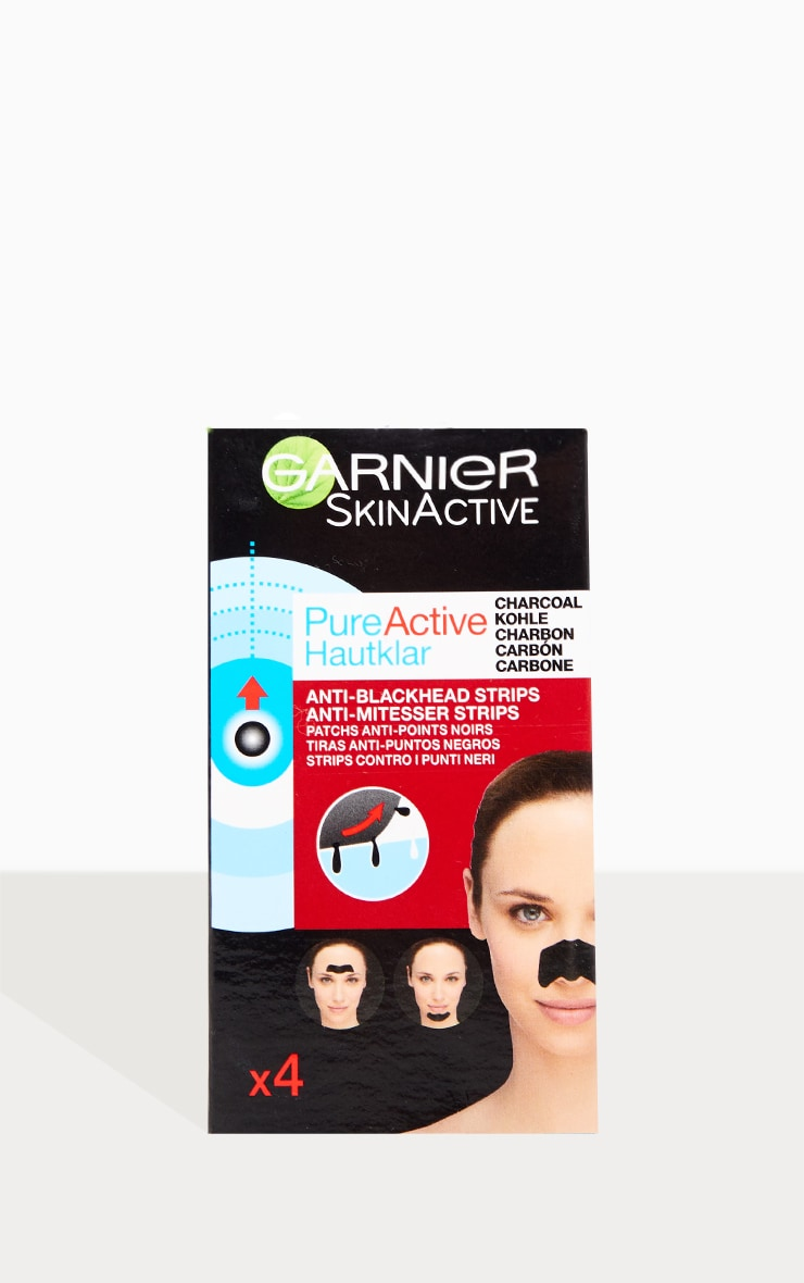 Garnier Pure Active Intensive Anti Blackhead Charcoal Nose Strips 1
