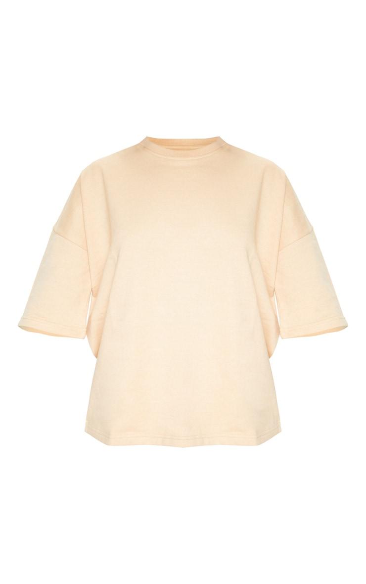 Fawn Oversized Sweat T-shirt 3