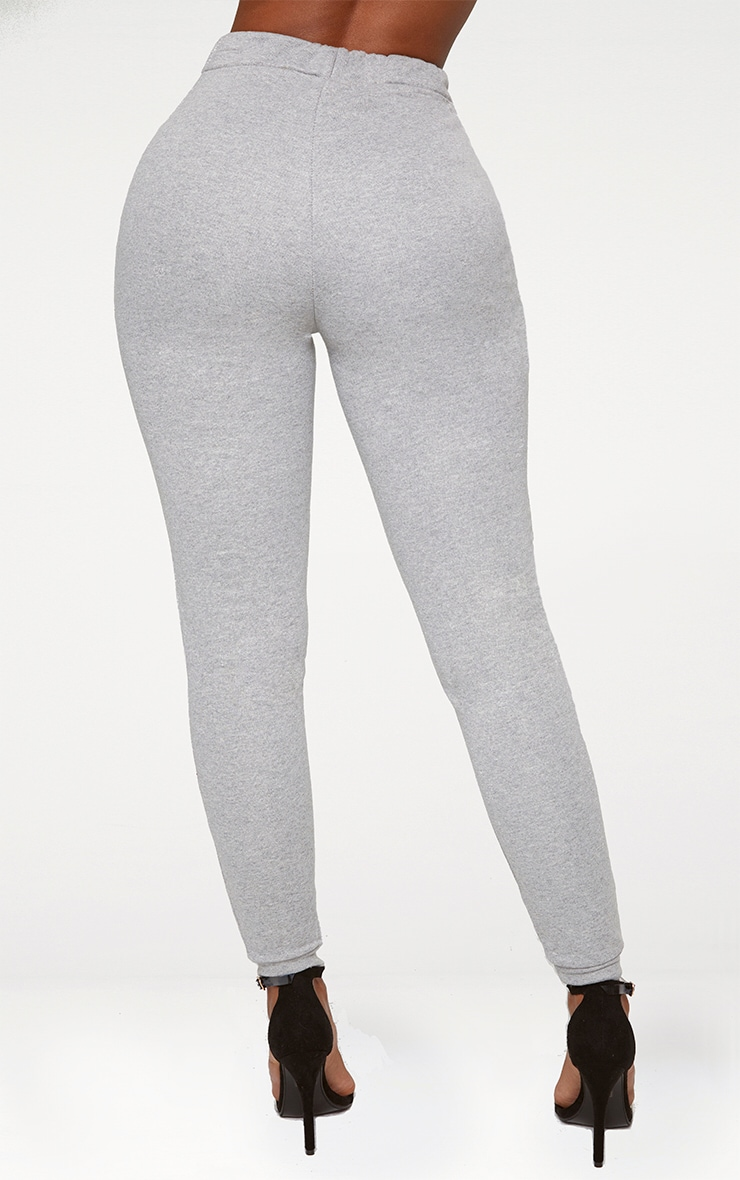 Shape Grey Elastic Bottom Joggers 3