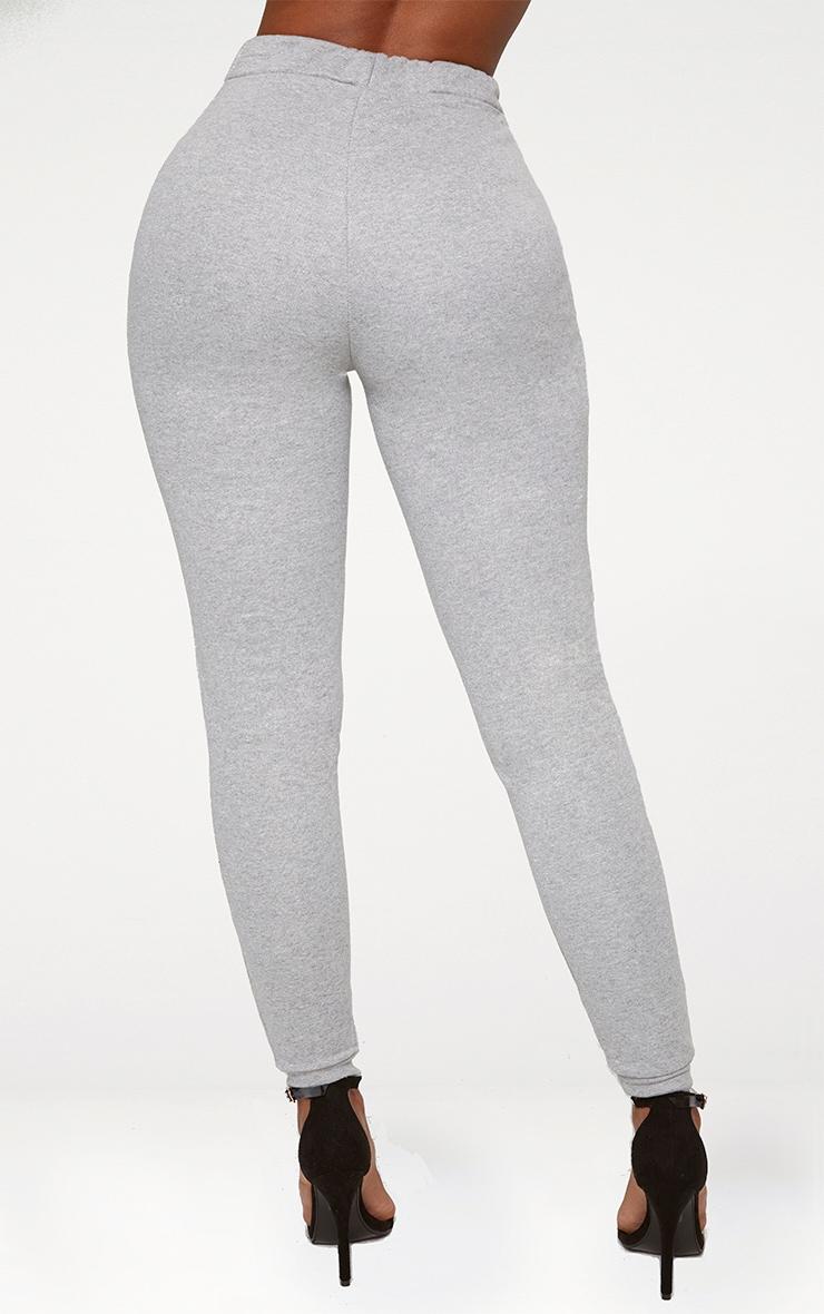 Shape - Jogging gris à chevilles élastifiées  3