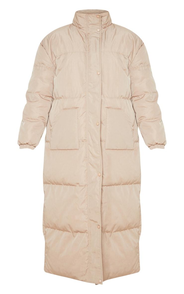 Tall Stone Longline Puffer Coat 3