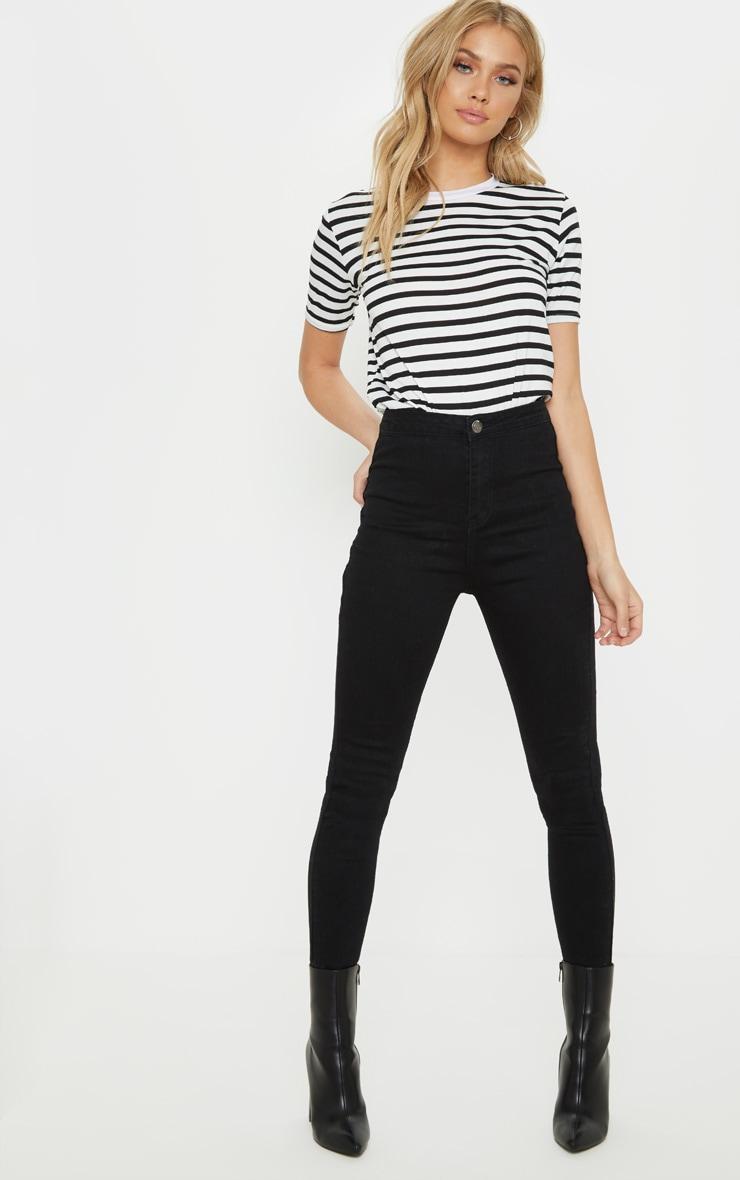Black Disco Fit Skinny Jean  1