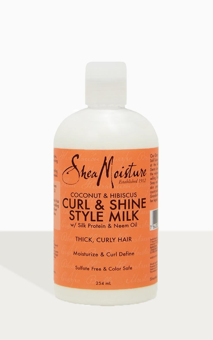 Shea Moisture Coconut & Hibiscus Curl & Style Milk 254ml 4