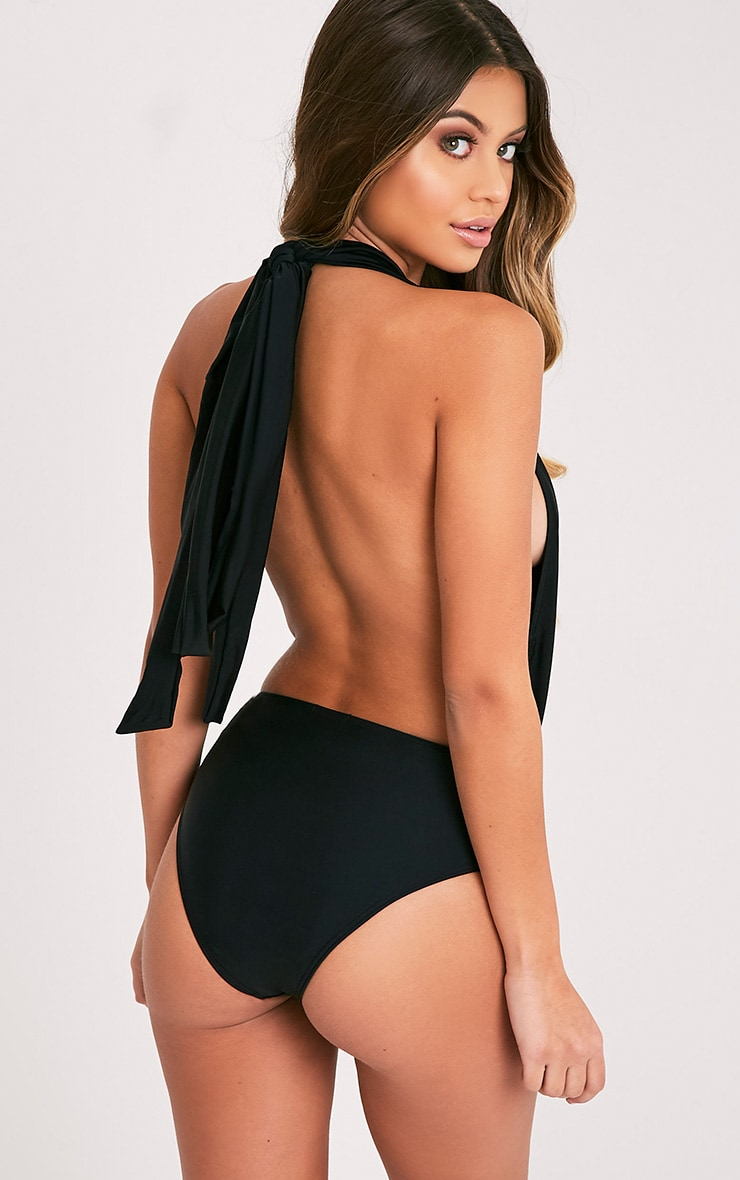 Amanda Black Multiway Swimsuit 5