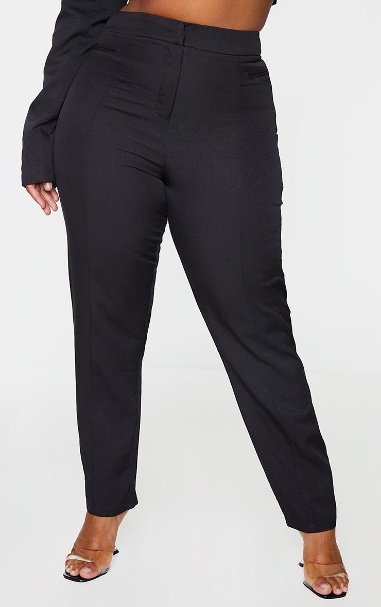 Plus Black Avani Suit Pants 2