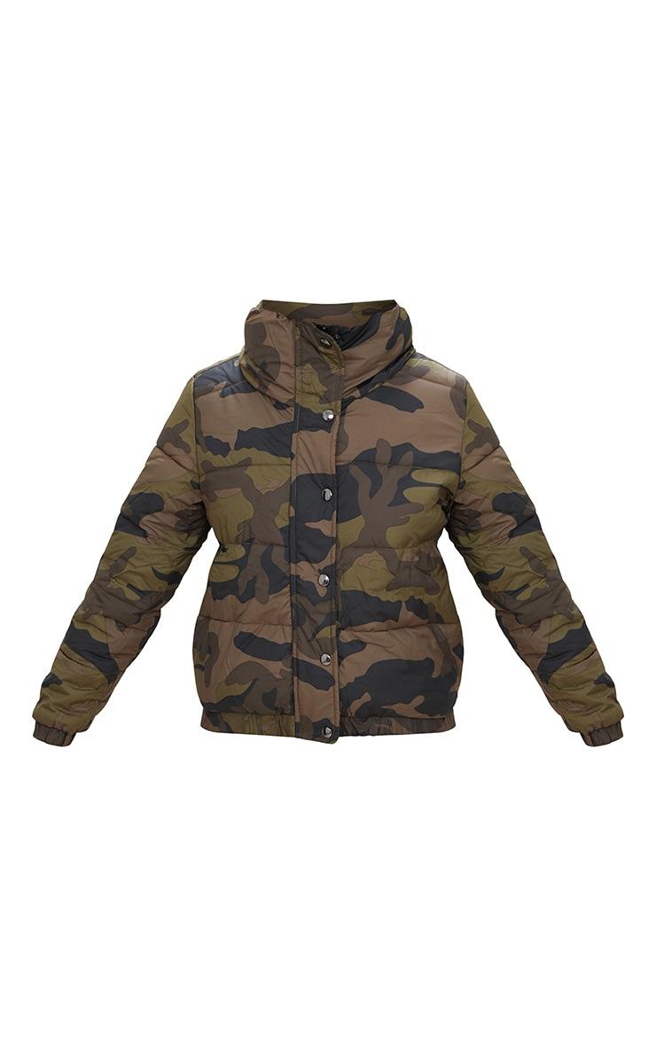 Camouflage Puffer Jacket 3