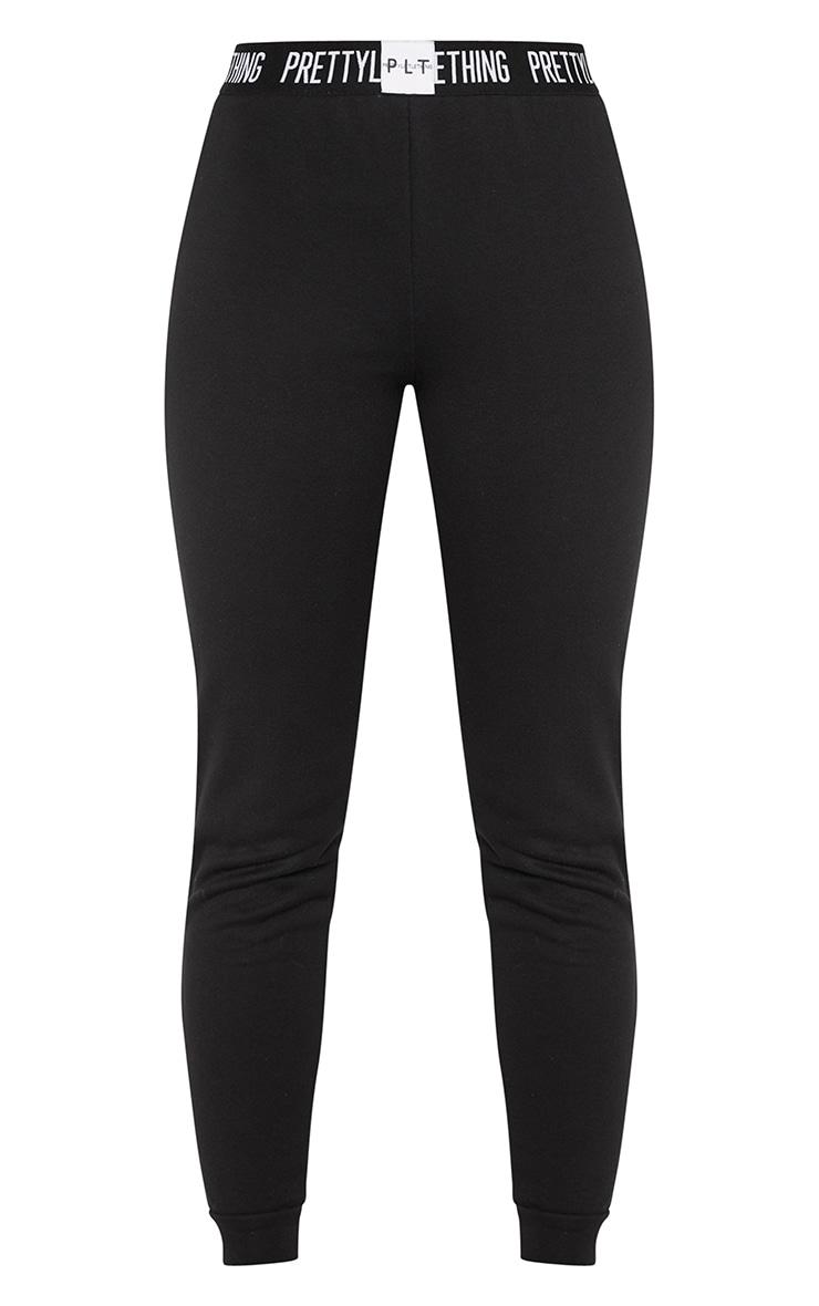 PRETTYLITTLETHING - Tall - Jogging noir à logo 3