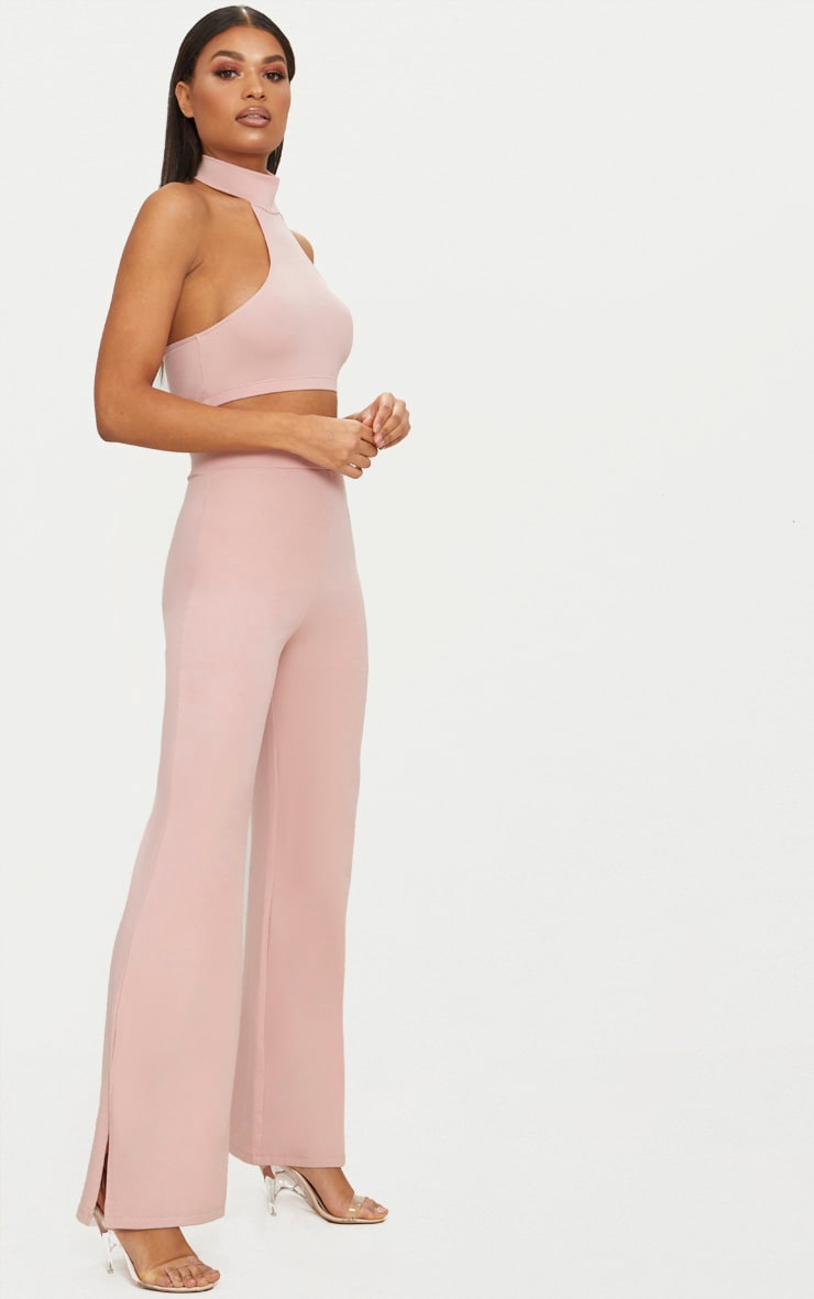 Rose Second Skin Flared Trousers 1