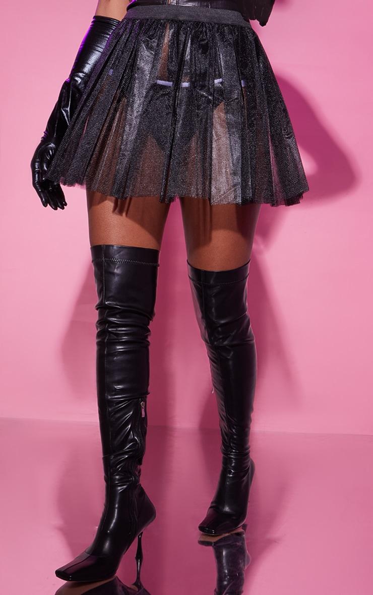 Black Basic TuTu Skirt 2