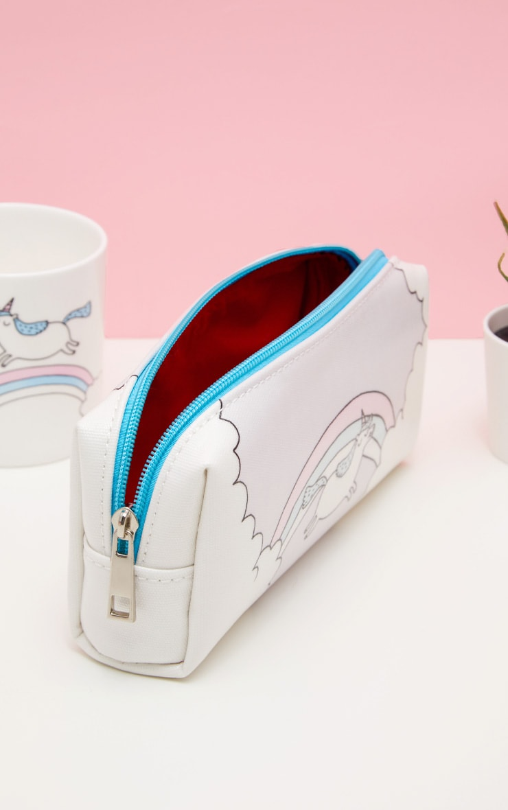 OhhDeer Large Unicorn Pencil Case 2