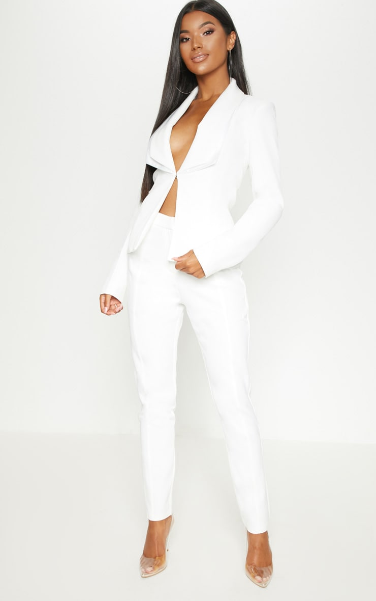 Avani Cream Suit Trousers 1