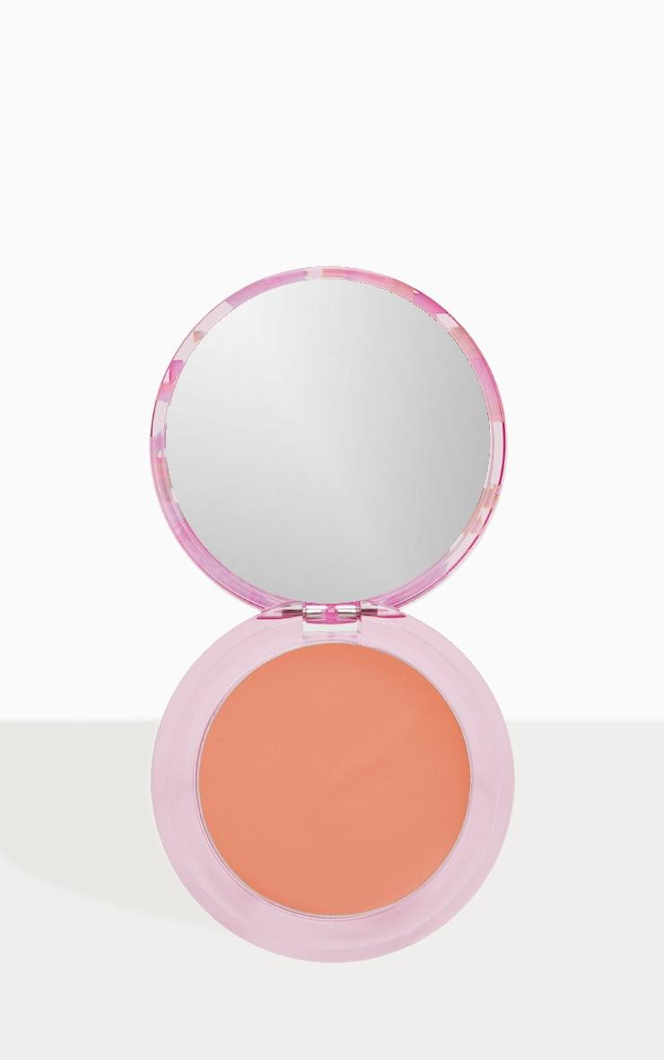 Lime Crime Digital Peach Soft Matte Softwear Blush Warm Pinky Peach 2