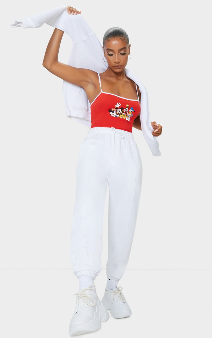 Red Disney Strappy Bodysuit 3