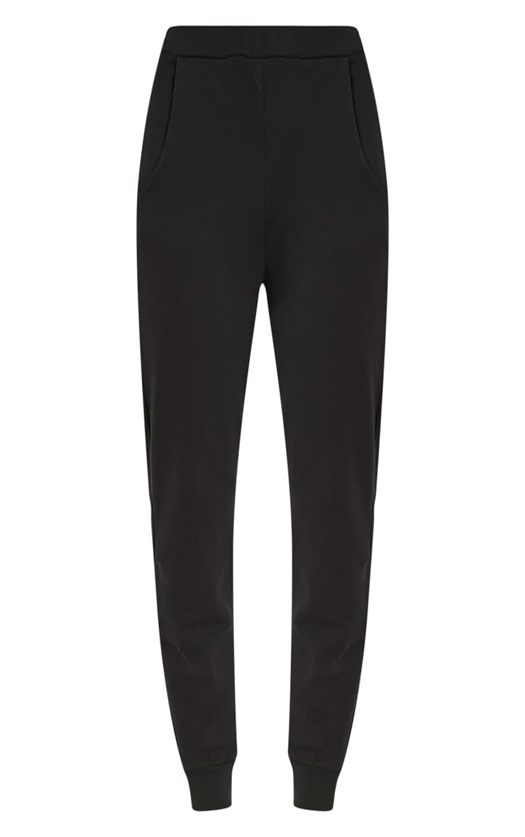Ellia Black Basic Joggers 3
