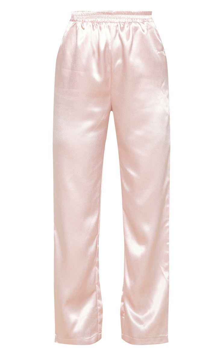 Rose Satin Trouser 3