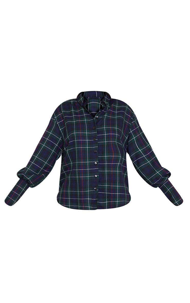 Green Checked Shirt 5