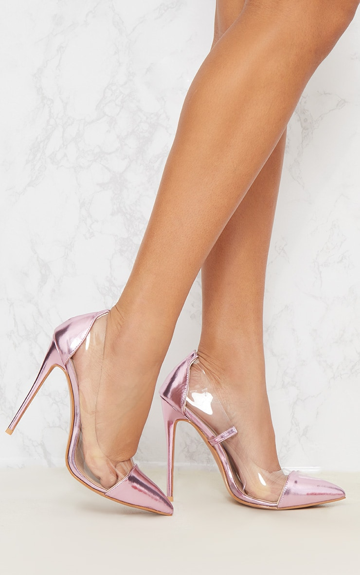 Lilac Metallic Clear Court 1