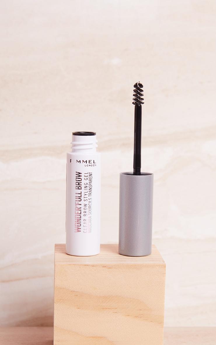 rimmel wonder'full 24hr brow mascara clear