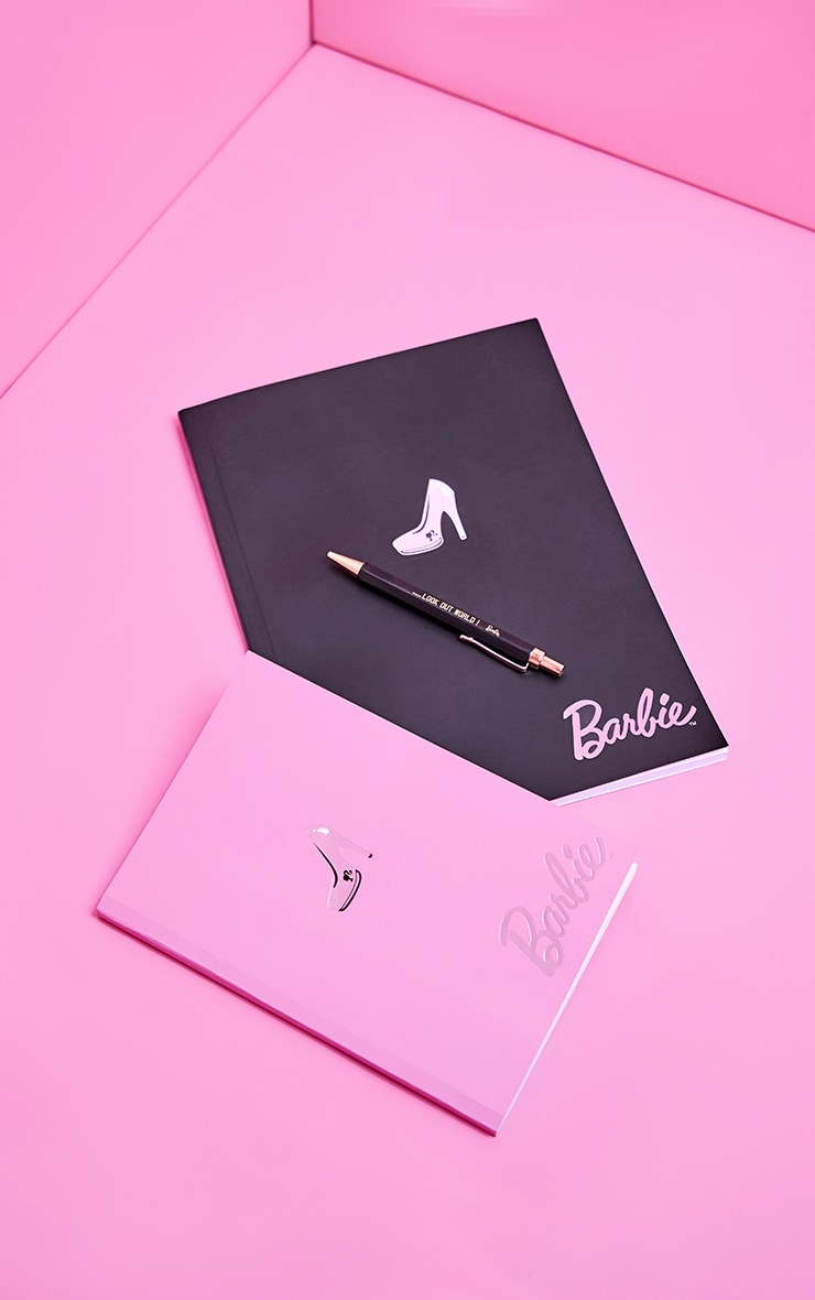 Barbie Black A4 Notebook 3
