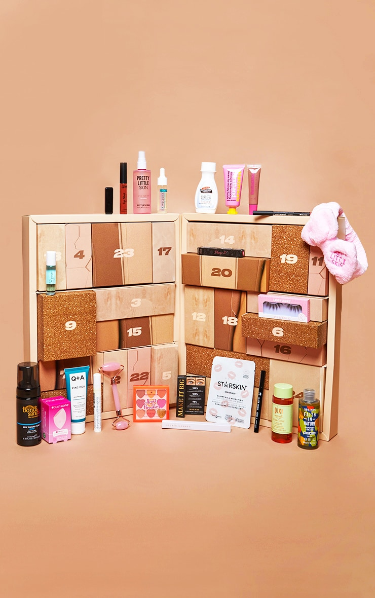 PRETTYLITTLETHING 24 DAY BEAUTY ADVENT CALENDAR (WORTH £204) image 1