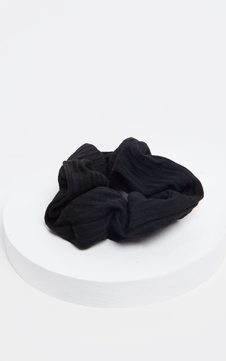Basic Black Scrunchie 3