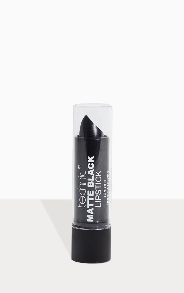 Matte Black Lipstick 3