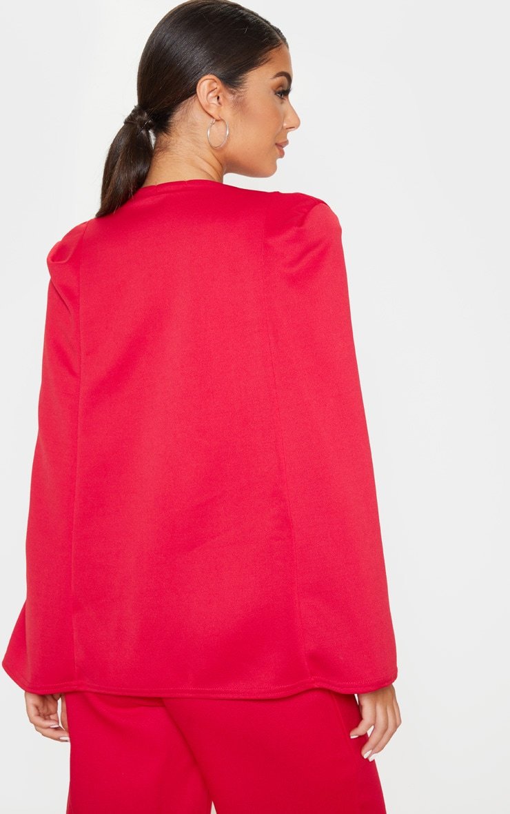 Red Cape Blazer 2