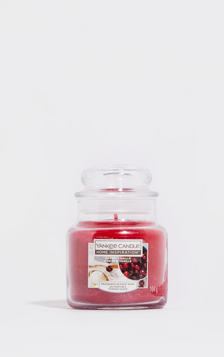 Yankee Candle Home Inspiration Small Jar Cherry Vanilla 2