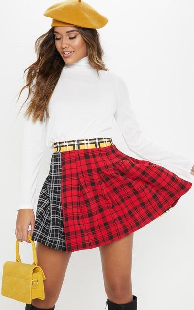 e5aef2d0d246 Tartan Skirts | Plaid & Checkered Skirts | PrettyLittleThing
