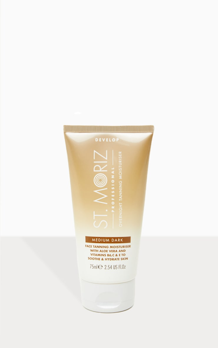 St. Moriz Pro Beauty Sleep Face Tanning Moisturiser 1