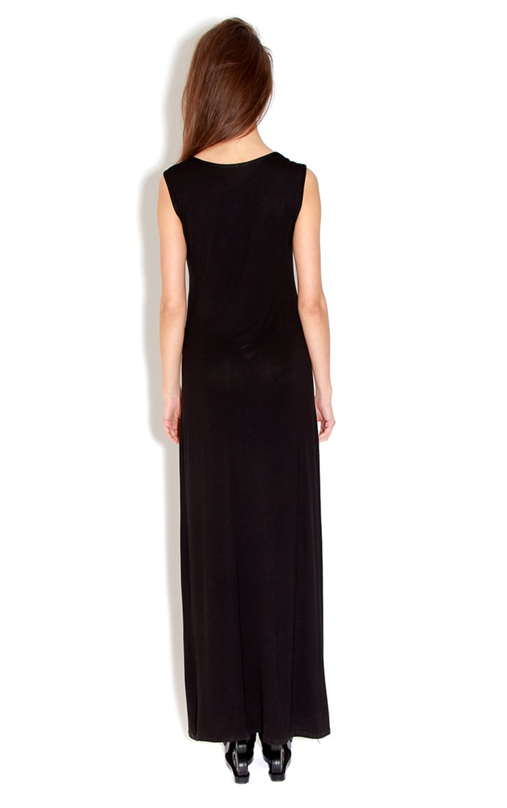 Jessie Black Maxi Dress 2