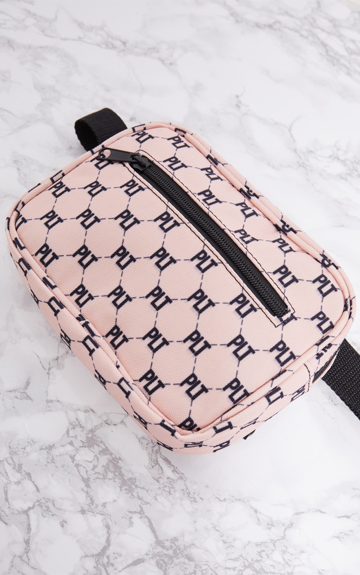 PRETTYLITTLETHING Pink Logo Bum Bag 6