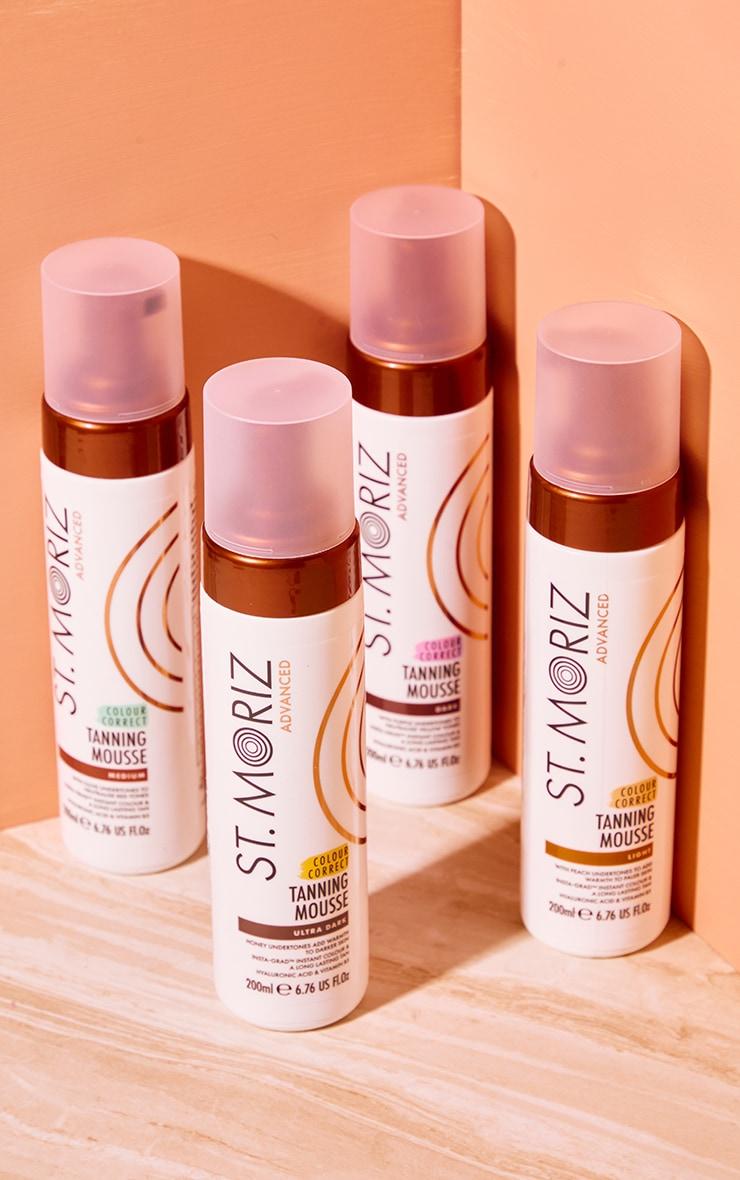 St Moriz Advanced Colour Correcting Tanning Mousse Dark 4