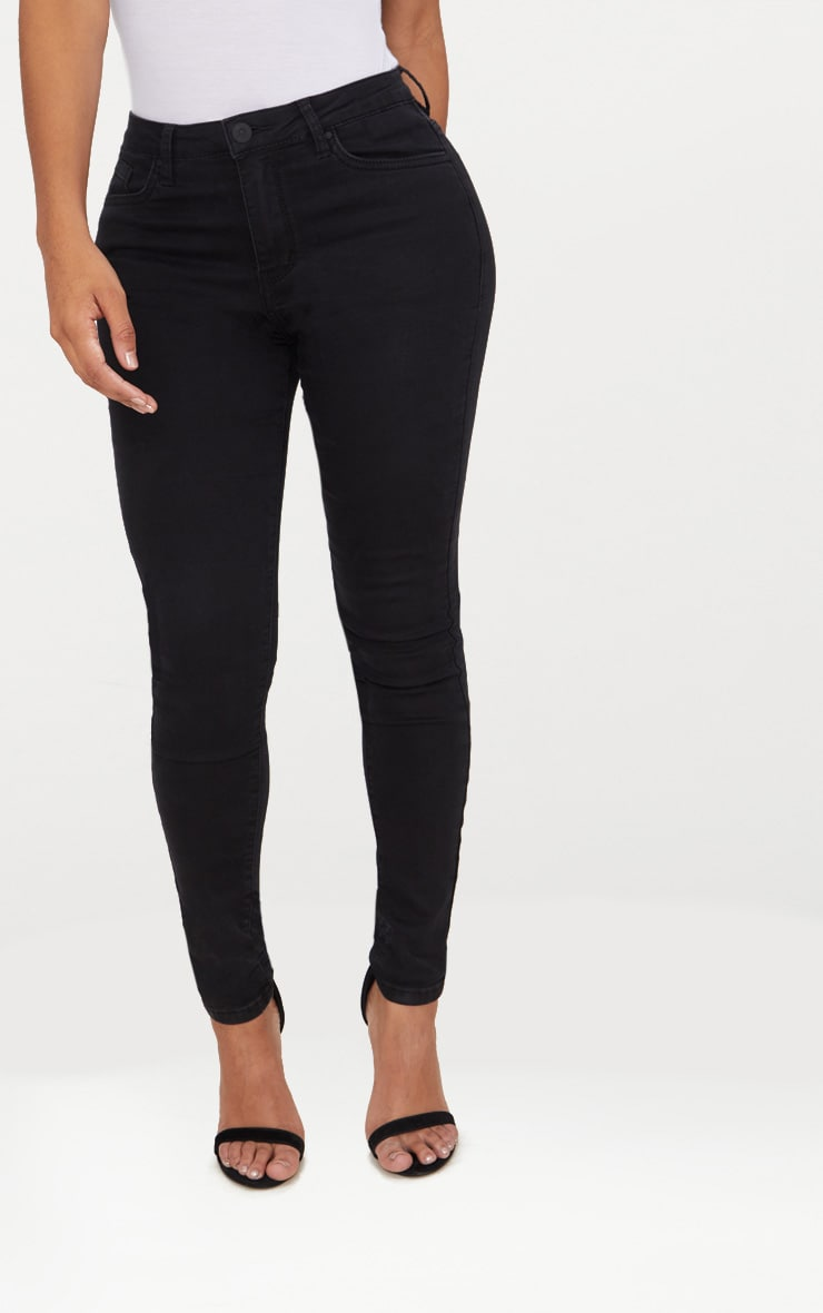 Shape Black Stretch Denim Skinny Jeans 2