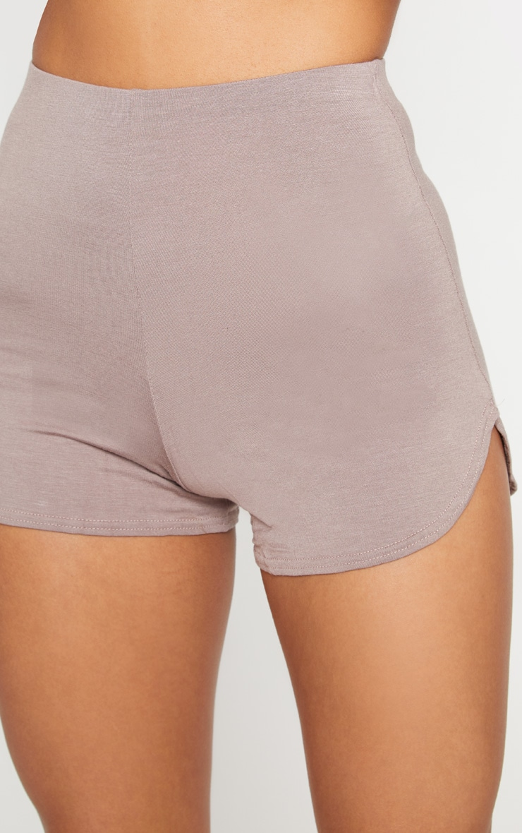 Taupe Basic Runner Short  6