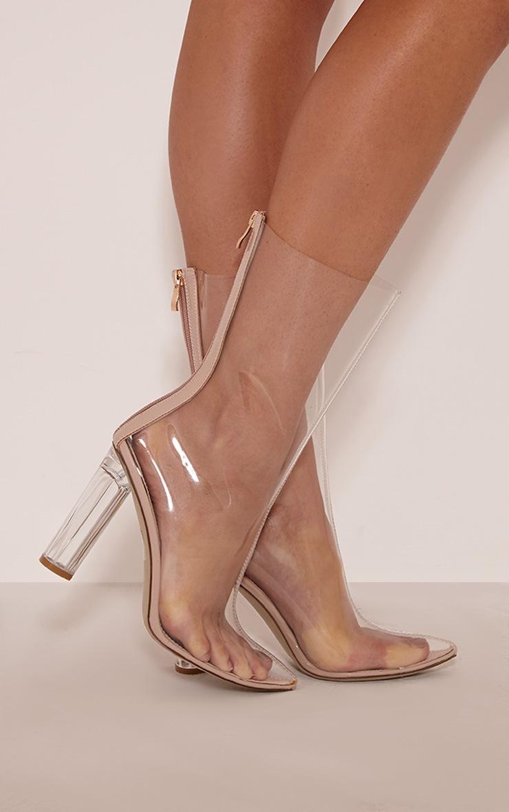 Zizi Clear Heeled Boots 2